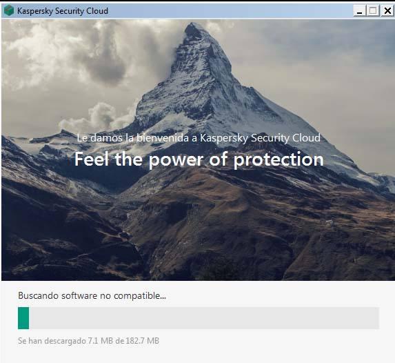 inicio instalacion Kaspersky antivirus gratuito